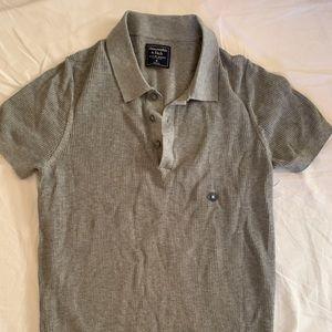 NWOT A&F MENS Polo shirt SIZE M